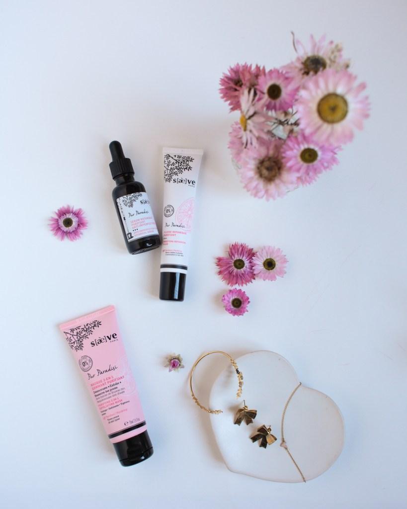 saeve-produits-de-beaute-pur-paradisi-fluide-botanique-purifiant-serum-anti-imperfections-masque-2-en-1-gommant-purifiant-bijoux-grizzly-cheri