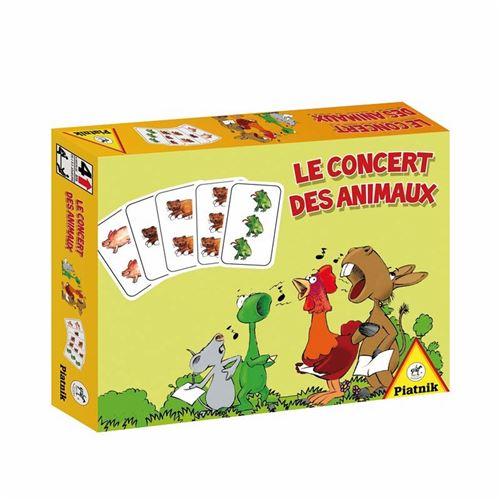 PIATNIK-Jeux-Le-Concert-Des-Animaux-Multicolore