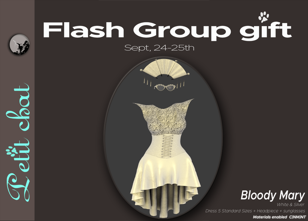 Bloody Mary : our new flash groupgift
