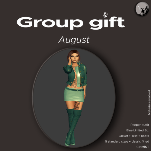 A groupgift for August graphic