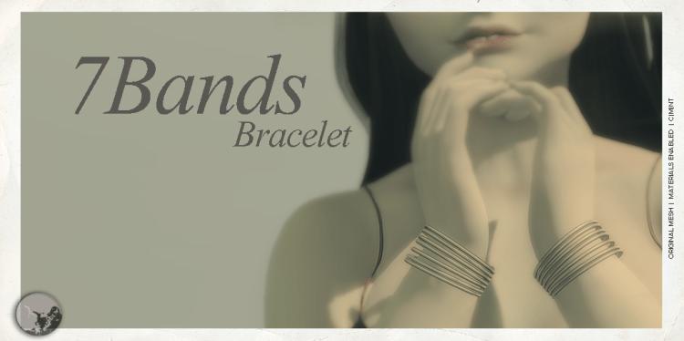 7Bands Bracelet @ TCF-October 18 graphic