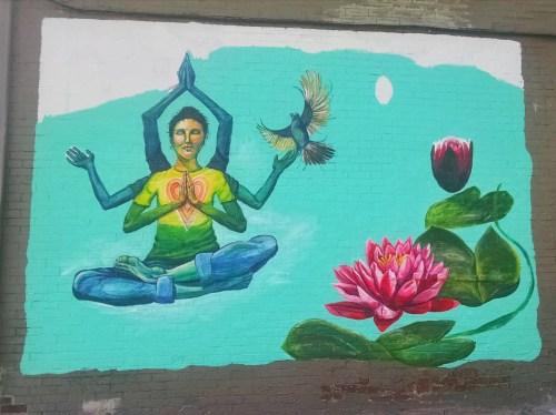 Weekend Recap - Mural - Herban Touch Juice Lab