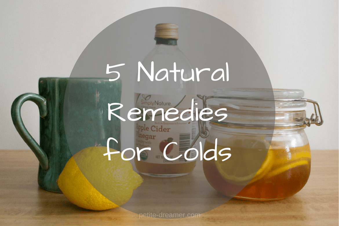 5 Natural Remedies for Colds