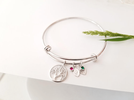 Family Tree Bracelet by LaLaCrystal | Mother's Day Gift Guide