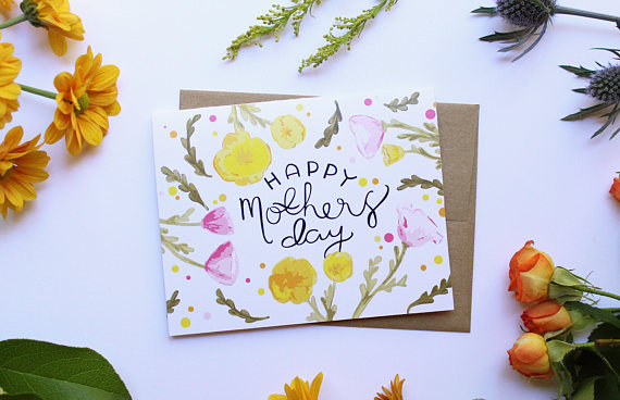 Mother's Day Card by Little Red Card Co   Mother's Day Gift Guide