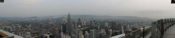 Les stars de la vue : les tours Petronas.