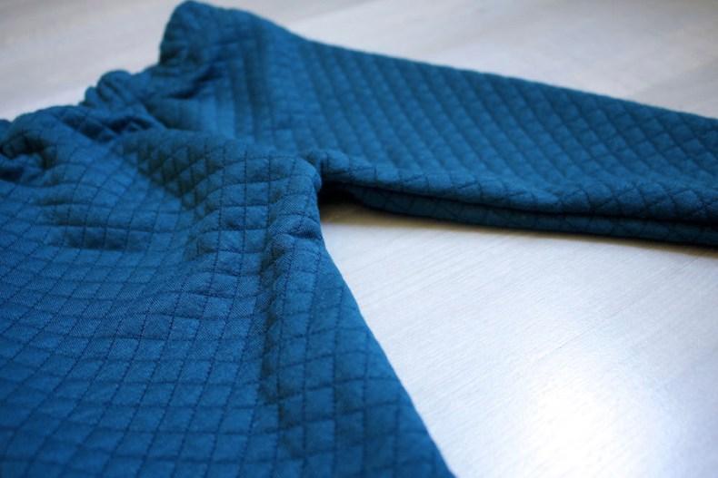 Détails du pantalon créé par Happy Léonie