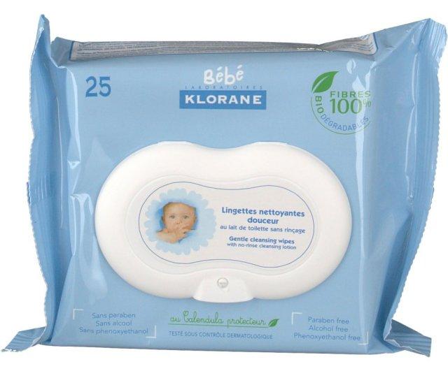 lingette-klorane-bebe-composition