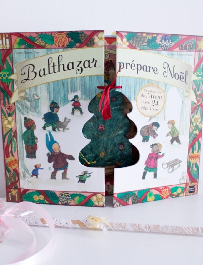 Balthazar prépare Noël avec son calendrier de l'Avent