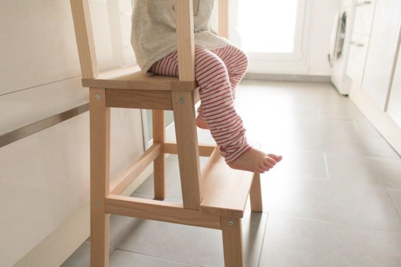 S'asseoir sur la tour d'observation