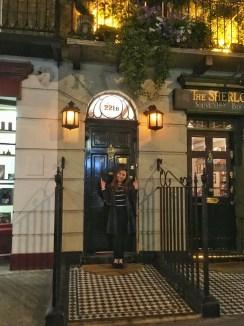 221 Baker Street - home of Sherlock Holmes