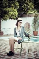green-topshop-cardigan-white-topshop-dress-black-zara-black-forever-21-nec_400