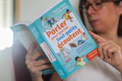 """Couverture du livre """"Parler pour que les tout-petits écoutent"""""""