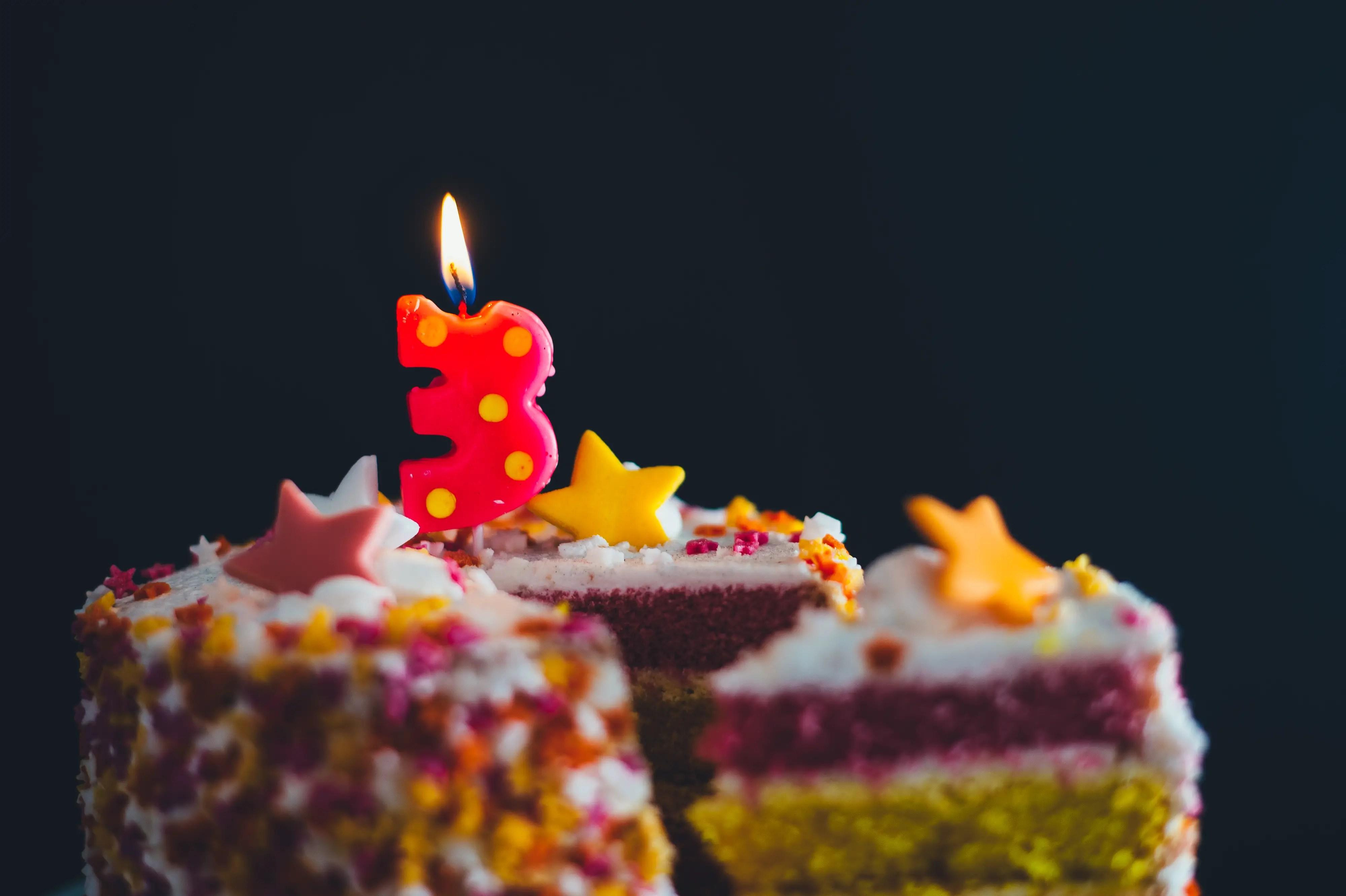 Goûter d'anniversaire pour enfant de 3 ans