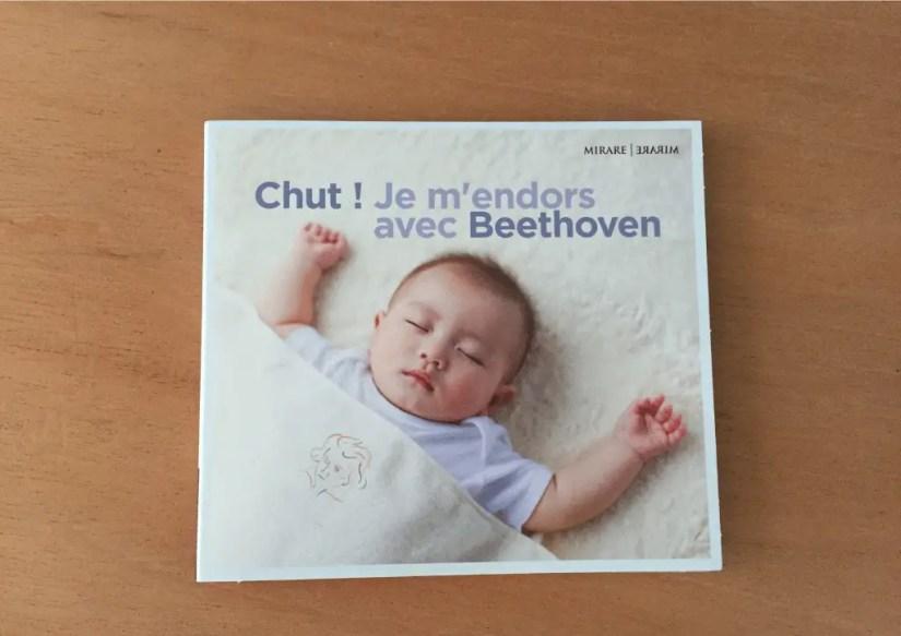 Chut, Je m'endors avec Beethoeven, un nouveau CD de musique pour endormir bébé
