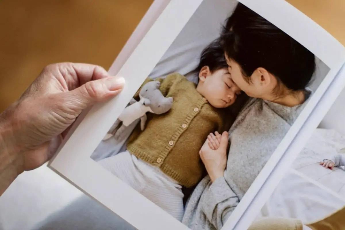 Album photo pour la fête des mères