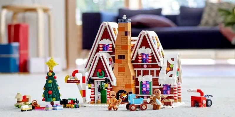 La maison en pain d'épices est un superbe set LEGO de Noël