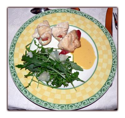 Poulet au prosciutto