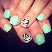 gel nails spring petite girls