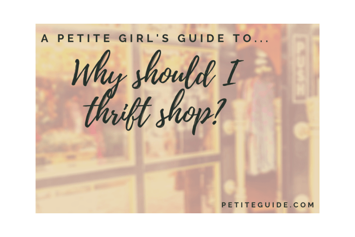 Why Should I Thrift Shop?