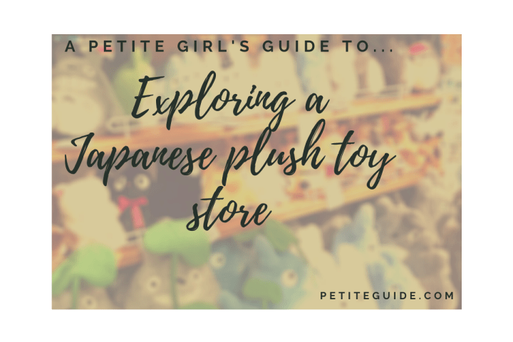 Exploring a Japanese Plush Toy Store