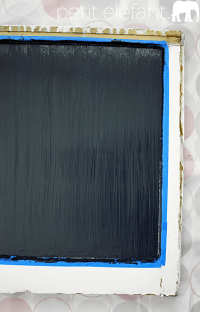 DIY Make A Simple Chalk Board Frame