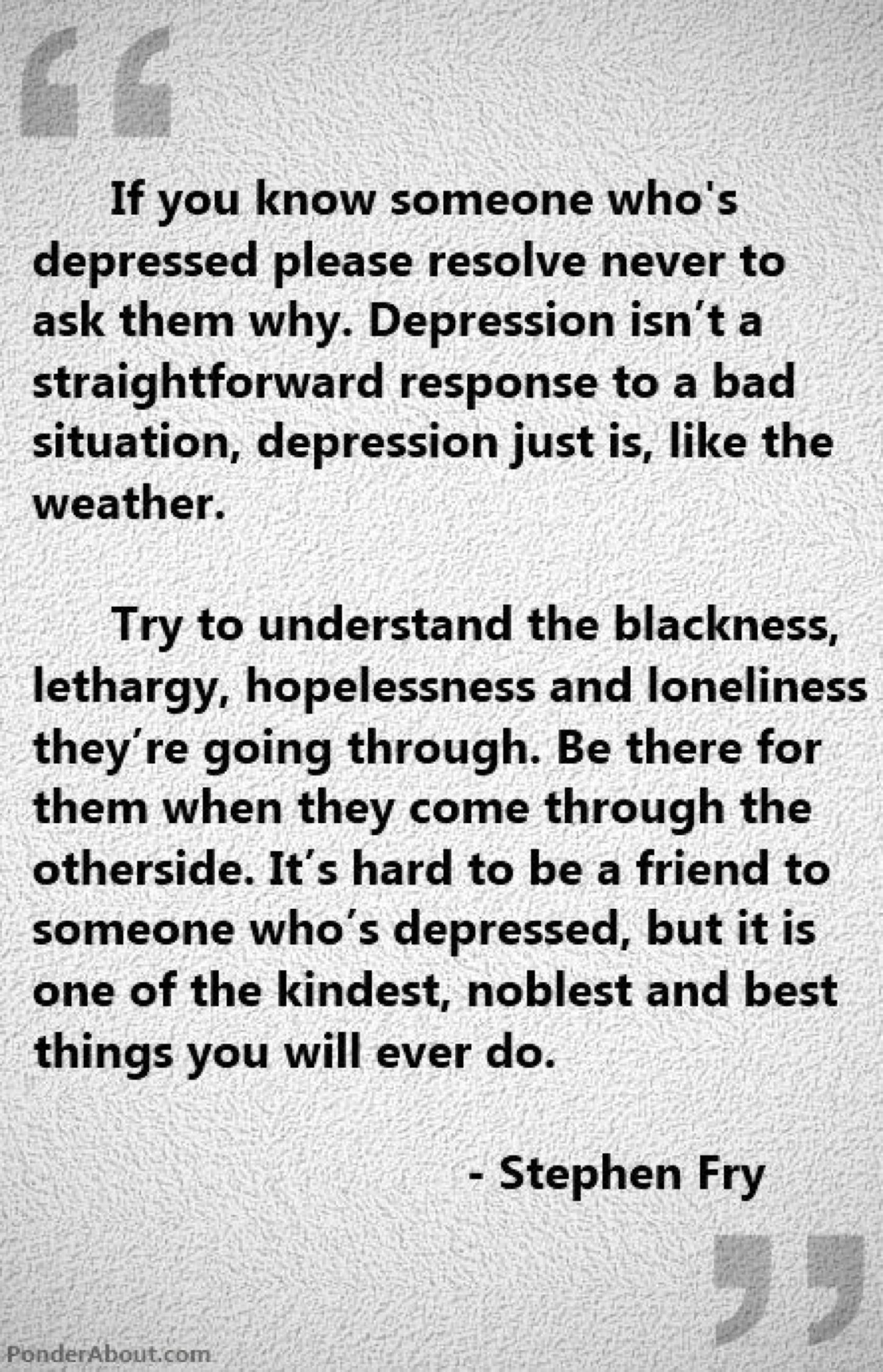 A Monster Called Depression…  Petitemagique