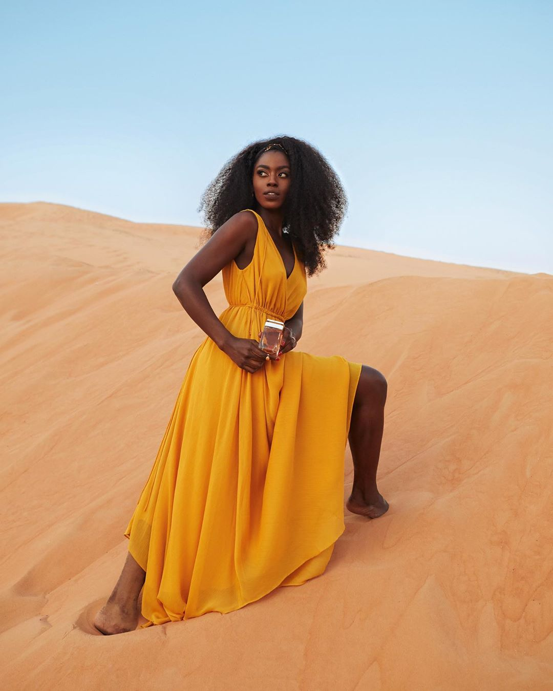 Black Women in Desert