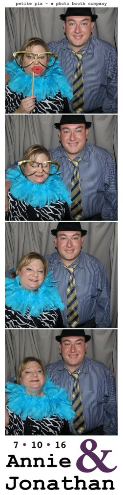 Petite Pix Classic Photo Booth at the Cicada Club in Downtown Los Angeles for Annie and Jonathan's Wedding 13