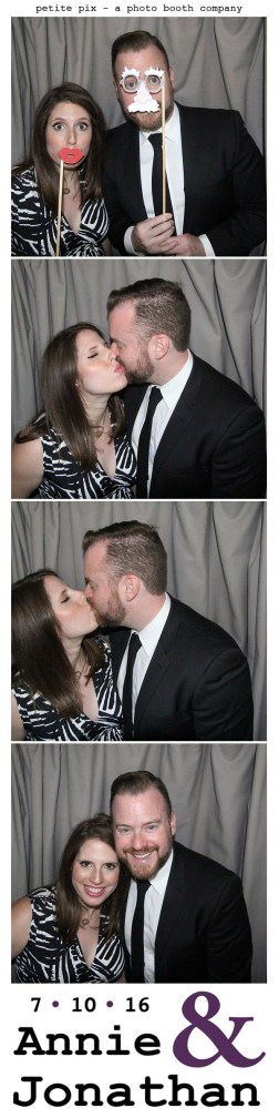 Petite Pix Classic Photo Booth at the Cicada Club in Downtown Los Angeles for Annie and Jonathan's Wedding 18