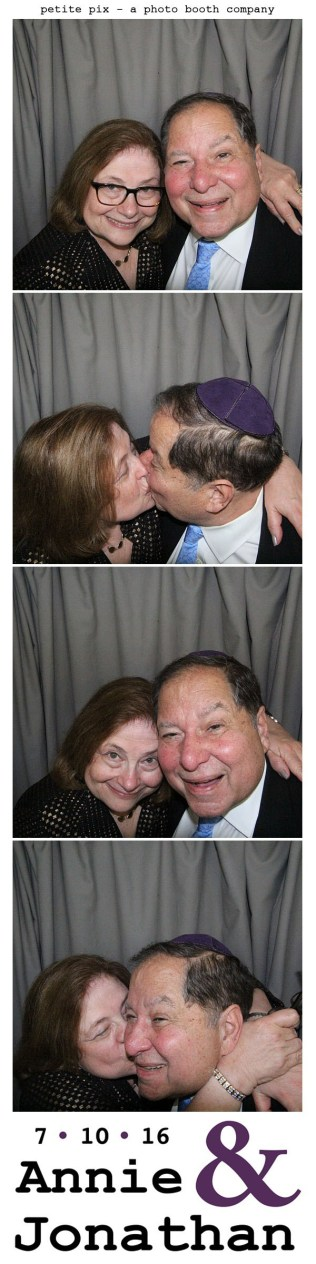Petite Pix Classic Photo Booth at the Cicada Club in Downtown Los Angeles for Annie and Jonathan's Wedding 22