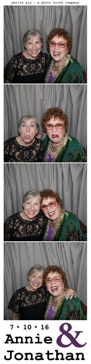 Petite Pix Classic Photo Booth at the Cicada Club in Downtown Los Angeles for Annie and Jonathan's Wedding 25