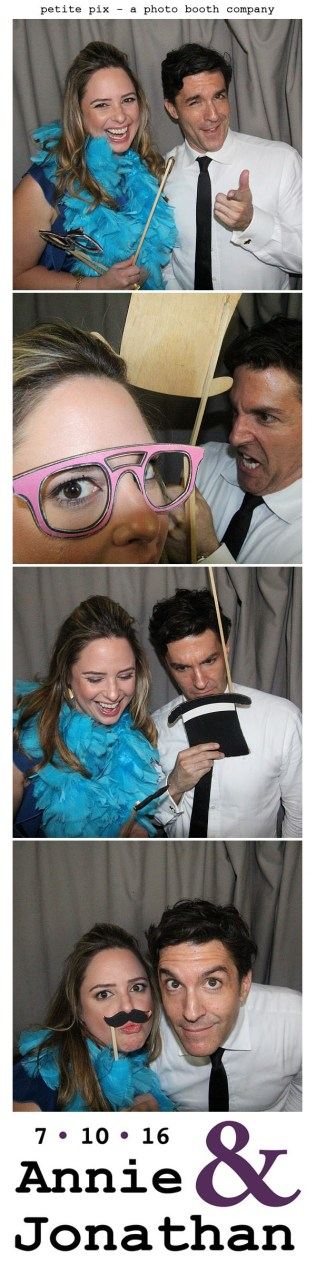 Petite Pix Classic Photo Booth at the Cicada Club in Downtown Los Angeles for Annie and Jonathan's Wedding 39