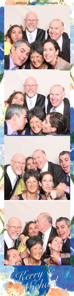 Petite Pix Vintage Photo Booth at the Redondo Beach Historic Library for Kerry and Michael's Wedding 43