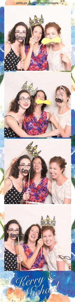 Petite Pix Vintage Photo Booth at the Redondo Beach Historic Library for Kerry and Michael's Wedding 6