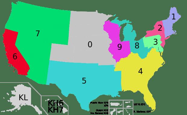 US_Amateur_callsign_regions