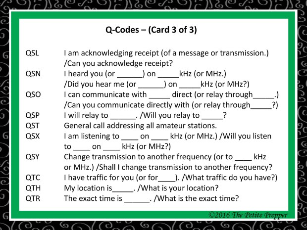 Green Comms Card - Q-Code Card 3