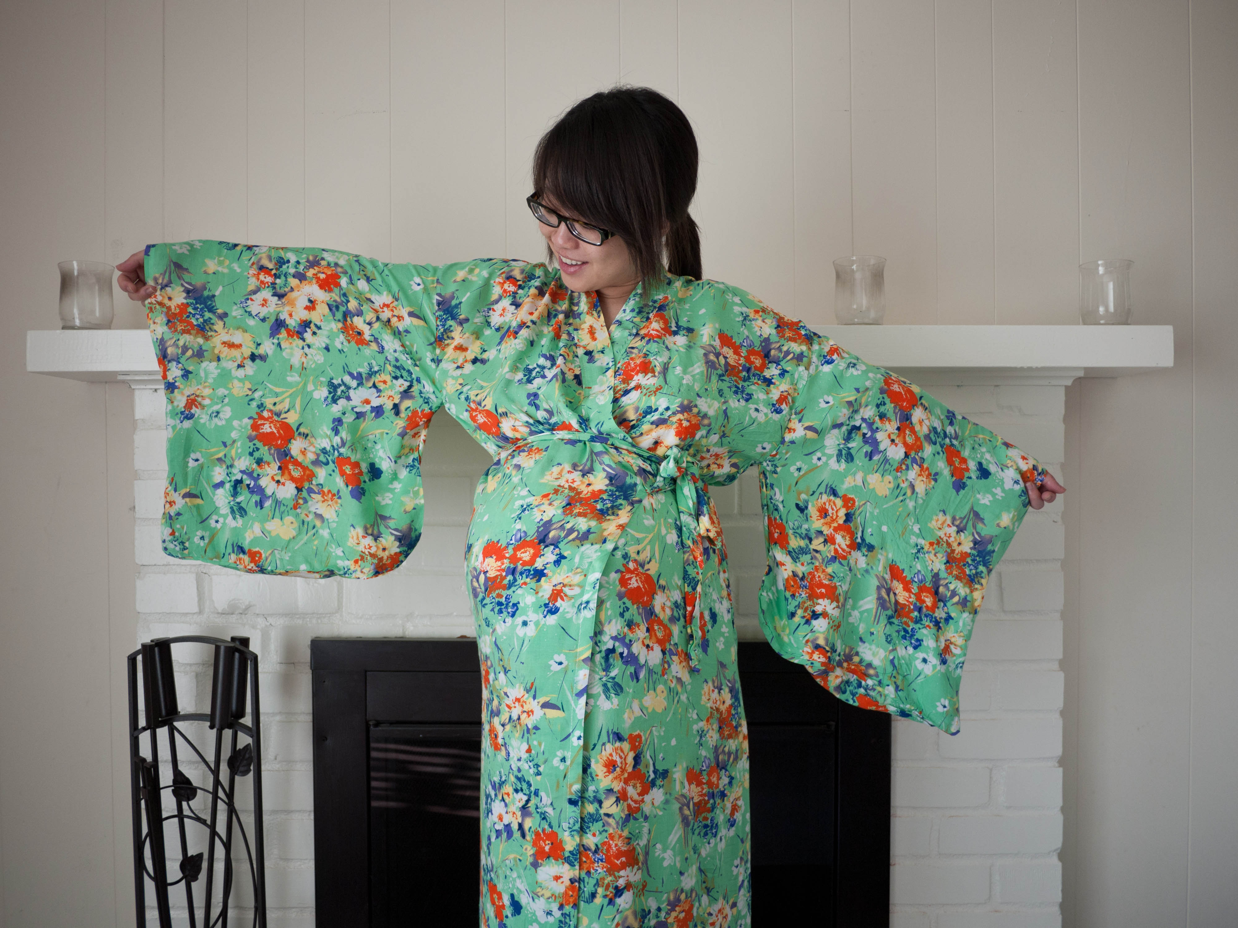 Rayon Kimono Robe And A Howto!