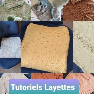 Fiches Tricot Layettes et enfants