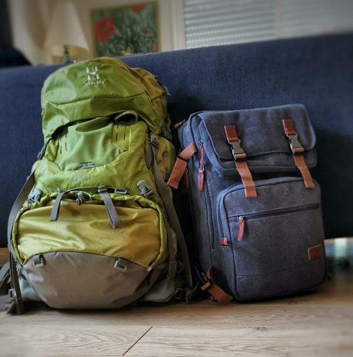 sac à dos pour interrail