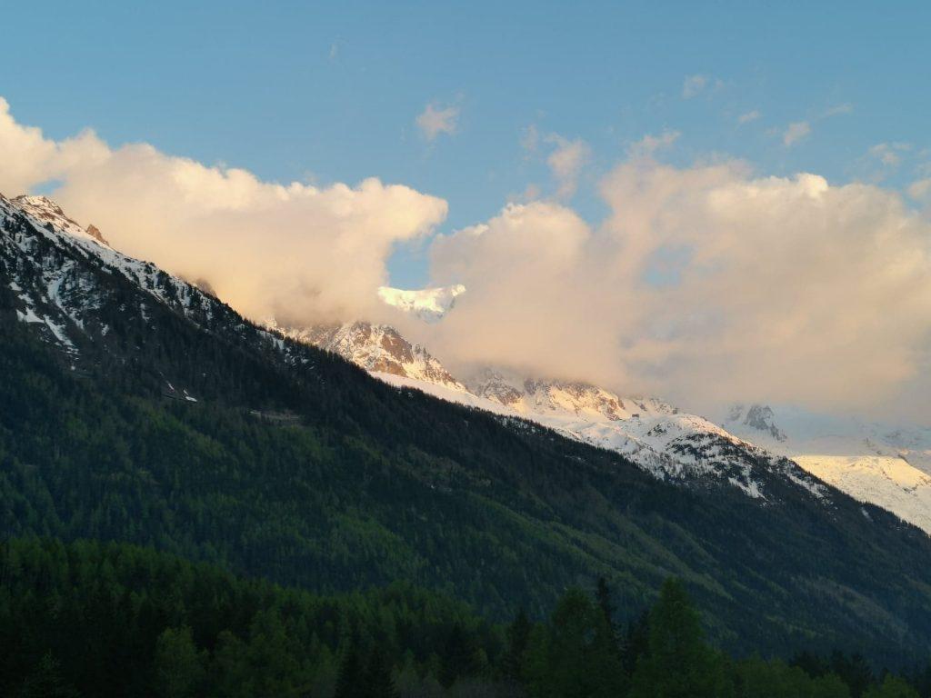 vue montagne nuage