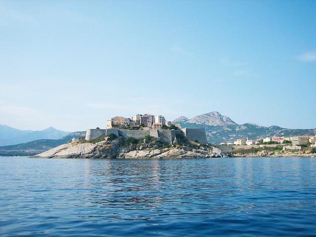 citadelle de calvi au nord-ouest de la Corse