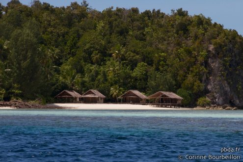 Homestays sur Mansuar. Raja Ampat, Papouasie, Indonésie. Juillet 2012.