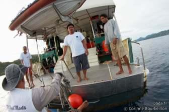 Croisière-plongée Raja Ampat (Black Manta). Papouasie, Indonésie. Mars 2012.