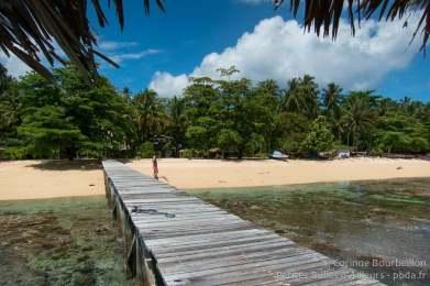 Coral Eye Beach. Bangka Island, Sulawesi, Indonésie. Mars 2013.