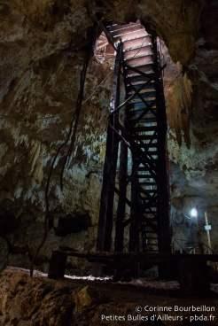 Cénote souterrain. Mexique, juillet 2014.