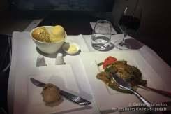 Le plat (curry de bœuf).