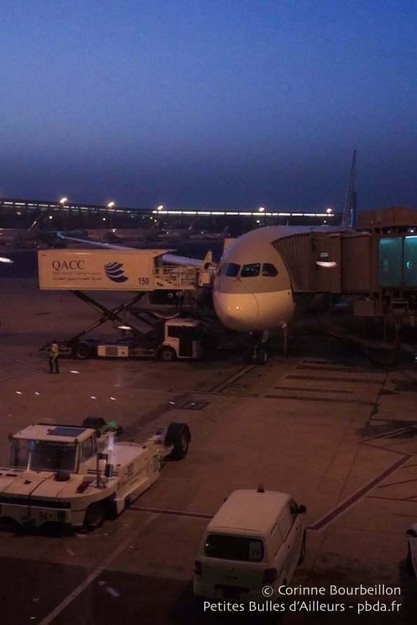 Aéroport de Doha, 28 juin 2016.