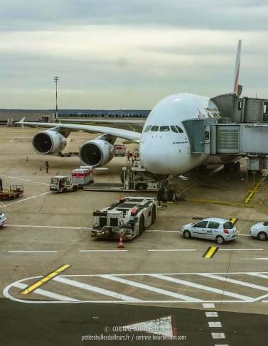 Prête à embarquer ! (Aéroport CDG)