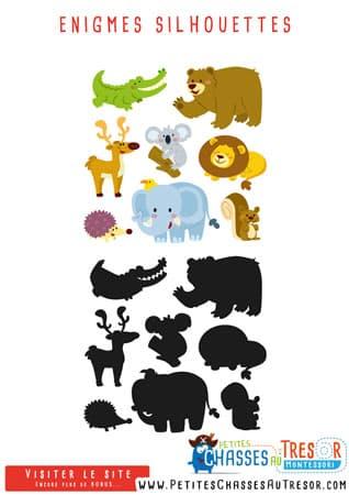 Enigmes amusantes avec des animaux